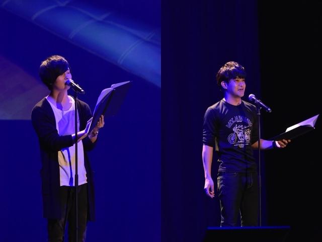 ▲(左)斉藤壮馬さん(右)石川界人さん
