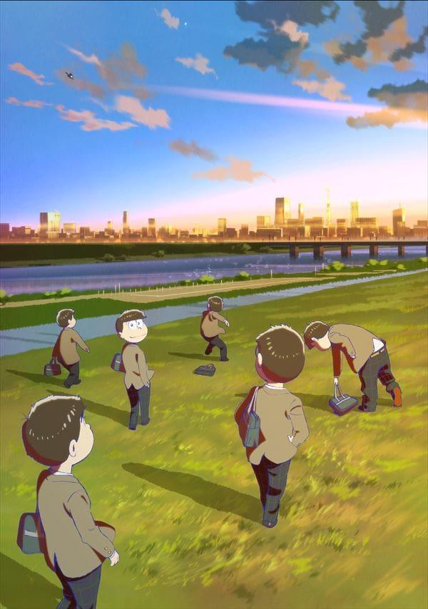 お笑いを追求した喜劇『おそ松さん』のメインビジュアルとキャラクタービジュアルが公開!主演キャスト6名のコメントも到着-3
