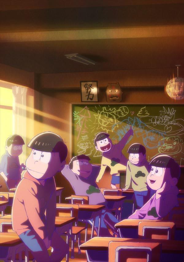 お笑いを追求した喜劇『おそ松さん』のメインビジュアルとキャラクタービジュアルが公開!主演キャスト6名のコメントも到着-2