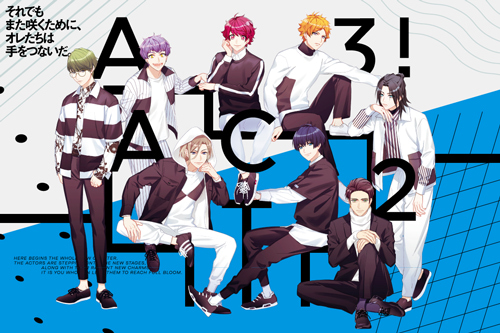 『A3!』がアニメイトカフェ名古屋2号店のコラボに登場