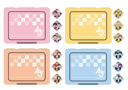 『A3!』がアニメイトカフェ名古屋2号店のオープン第1弾コラボに登場! オリジナル描き下ろしイラストを使用したオリジナルグッズも販売!-10