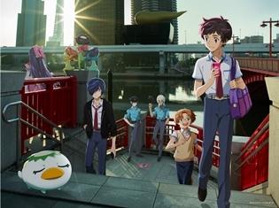 TVアニメ『さらざんまい』ティザービジュアル、メインスタッフ&キャストが解禁! 諏訪部順一さんが登壇するイベントも開催決定!