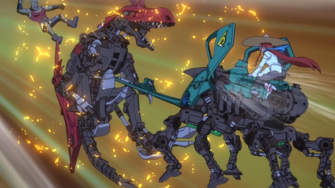 TVアニメ『ゾイドワイルド』第18話あらすじ&先行場面カットが到着! 用心棒をしているソースと再会したアラシ。そこへ怪しい影が動き出す……の画像-12