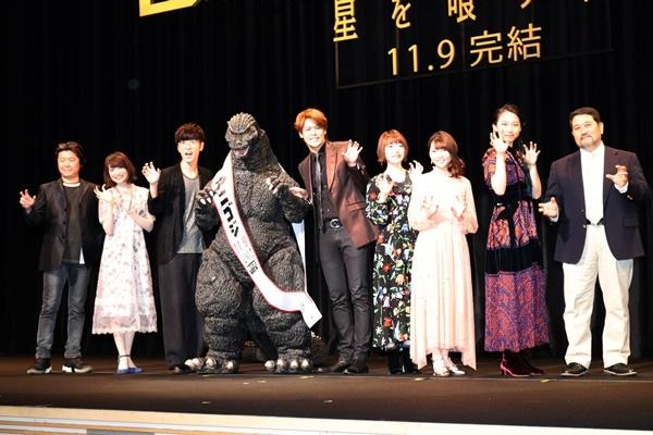 宮野真守、櫻井孝宏らが登壇『GODZILLA 星を喰う者』上映会をレポート
