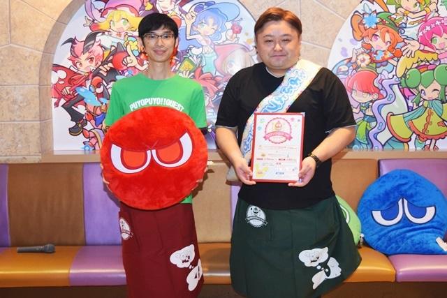 ▲左からハリガネスケルトンさん、細山田水紀さん