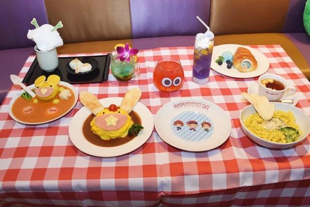 「ぷよクエカフェ2018」に「星天シリーズ」と「野菜どろぼう」をイメージした新メニューが登場!11月23日に大阪で『ぷよクエ』運営開発チームキャラバン開催-10