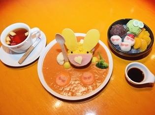 「ぷよクエカフェ2018」試食会をレポート! バター風味豊かな「カーバンクルカレ~」や甘々でぷにぷにな「ぷよたまあんみつ」など美味しすぎてフィーバー状態に!