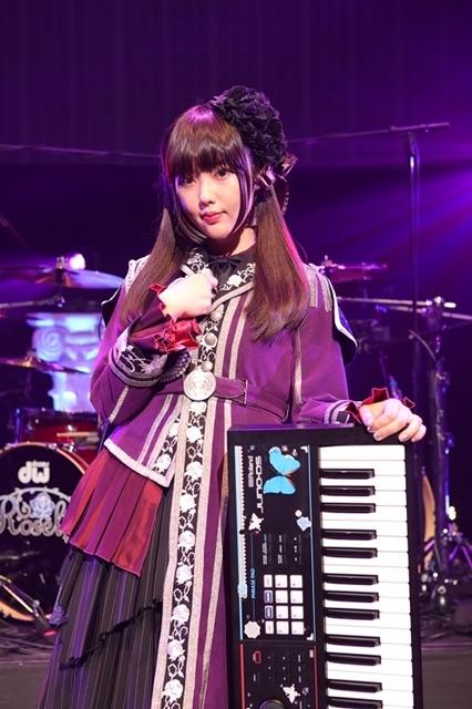 『バンドリ!』Roseliaに志崎樺音(しざきかのん)さん新加入、白金燐子役に決定! Roselia Live「Vier」にて大発表-2