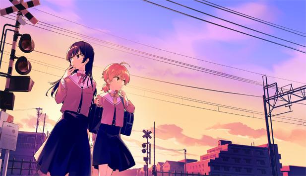 秋アニメ『やがて君になる』BD&DVD第1巻のイラストが公開