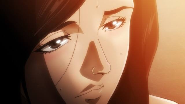 TVアニメ『バキ』20話で刃牙と梢江の過激なシーンを放送