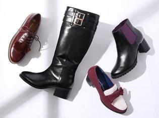 『刀剣乱舞-ONLINE-』コラボシューズ第七弾が登場! にっかり青江の靴をイメージしたロングブーツなど4種類がラインナップ