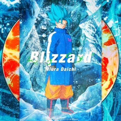 『ドラゴンボール超 ブロリー』主題歌「Blizzard」よりジャケット公開