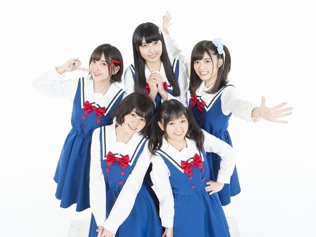 『わたてん』出演声優5名が歌唱ユニット「わたてん☆5」結成