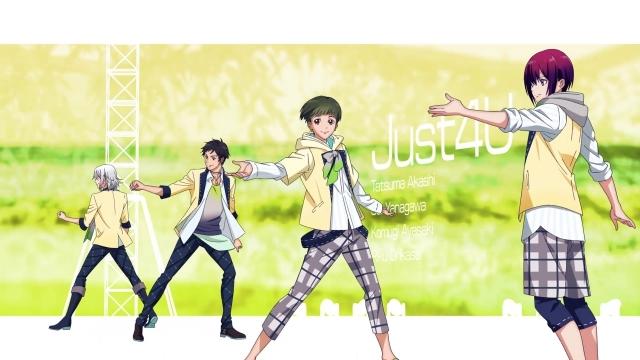 """『Readyyy!』よりユニット""""Just 4U""""の魅力を紹介!【連載第4回】"""