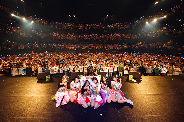 """『i☆Ris』次に目指すのは""""東京ドーム""""という『Happy New World☆』だ。『i☆Ris 6th Anniversary Live ~Lock on♡ 無理なんて言わせないっ!~』レポ-12"""