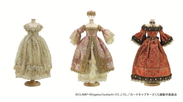 ▲CLAMP・もこな先生手づくりのドレス(前期)