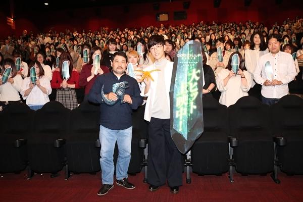 櫻井孝宏が登壇した『GODZILLA 星を喰う者』「メトフィエスナイト」をレポート