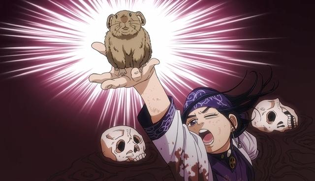 『ゴールデンカムイ』ショートアニメ18話が1週間限定公開