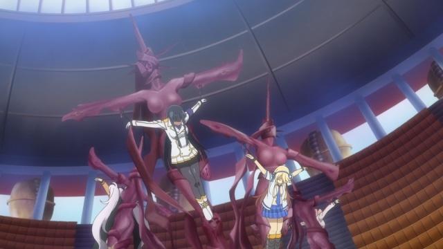 TVアニメ『閃乱カグラ SHINOVI MASTER -東京妖魔篇-』第4話の先行場面カット公開! 雪泉らが月閃女学館の調査へ向かう-8