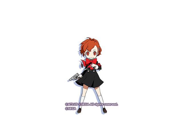 ▲P3女性主人公(CV:井上麻里奈)