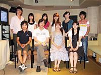 10月新番組『とらドラ!』間島さん・堀江さん・野島さん・大原..