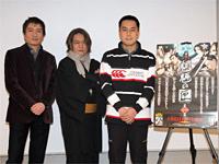京極氏、中村監督、平田さんが参加して『魍魎の匣』DVD発売記..