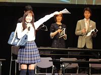 制服コスプレで登場から盛り上げた井上喜久子さん